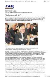 Die Herzen entzündet Oberbayerisches Volksblatt - Die Pallottiner