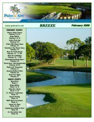 February 2009 Breeze + inserts.p65 - Palm-Aire Country Club