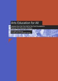 Arts Education for All - OMG Center for Collaborative Learning