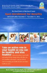 Open Enrollment for Benefits - The School District of Palm Beach ...