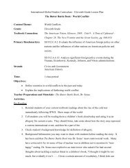Eleventh Grade Lesson Plan The Butter Battle Book - The School ...