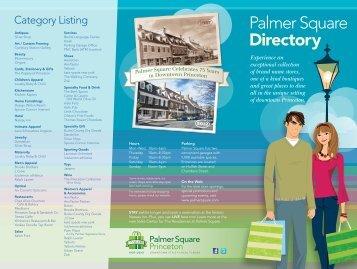 Printable Directory - Palmer Square
