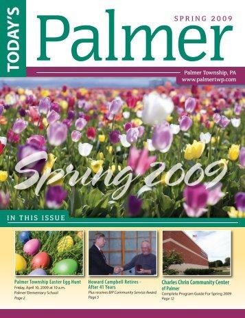 Spring 2009.indd - Palmer Township