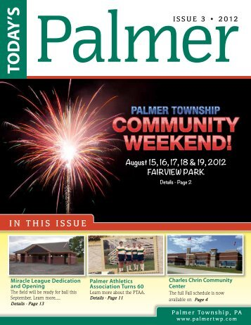 Issue 3 - 2012 - Palmer Township