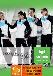 Erima 2014 - C-Sport.fr