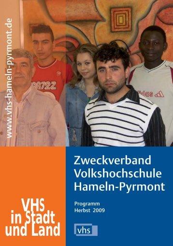 Herbstprogramm 2009 - Deutsches Institut für Erwachsenenbildung