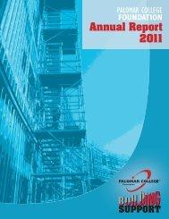 Annual Report 2011 - Palomar College
