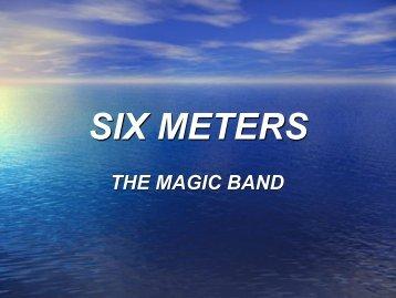 SIX METERS - Palomar Amateur Radio Club