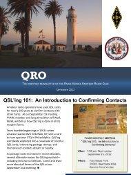 QRO - Palos Verdes on the Net