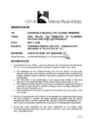 May 4, 2009 City Council Staff Report – CUP 215 Revision 'K'