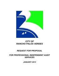 Professional Independent Audit Services - Palos Verdes on the Net