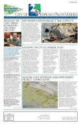 City Newsletter - Palos Verdes on the Net