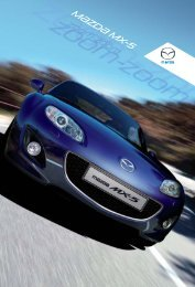 Broschüre ansehen - Mazda