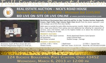 124 Buckeye Boulevar.. - Pamela Rose Auction Company, LLC