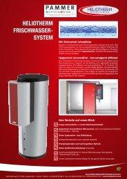 Frischwassersystem Produktblatt