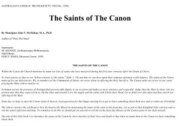 cannon catholic singles Catholic answers, el cajon, california 608,675 likes 5,567 talking about this 1,081 were here to explain and defend the faith.