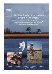 Die Stockholm Konvention - Pestizid Aktions-Netzwerk eV
