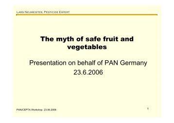 Maximum residue limits pesticides codex