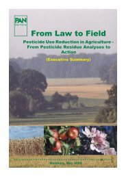 From Law to Field Pesticide Use Reduction in Agriculture