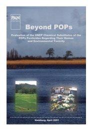 Persistent Organic Pollutants (POPs) - Pestizid Aktions-Netzwerk eV