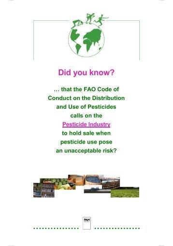 download - Pestizid Aktions-Netzwerk eV