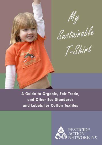 My Sustainable T-shirt - Aniel Gardiner