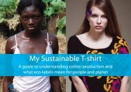 My Sustainable T-Shirt (2010) - Pesticide Action Network UK
