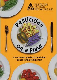 Pesticides on a Plate:Layout 1.qxd - Pesticide Action Network UK