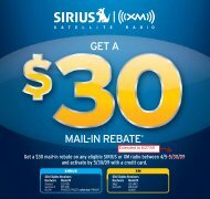 GET A MAIL-IN REBATE - Pana-Pacific