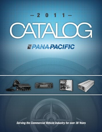 Table of Contents - Pana-Pacific