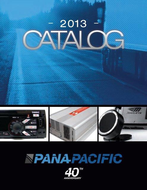 latest printed catalog - Pana-Pacific