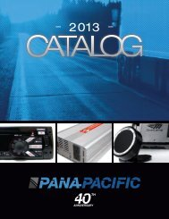 latest printed catalog - Pana-Pacific