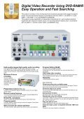 A Professional DVD Video Recorder for higher Video and Audio ... - Page 2