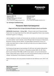 080826 - Panasonic - DemoPoolPartner PR FINAL DE