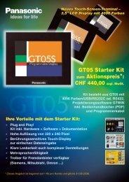 Datenblatt (0.20 MB) - Panasonic Electric Works Schweiz AG