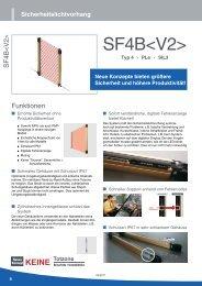 Datenblatt SF4B - Panasonic Electric Works Austria GmbH