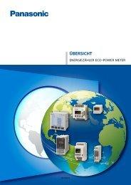 Übersicht Energiezähler (1,75MB) - Panasonic Electric Works ...