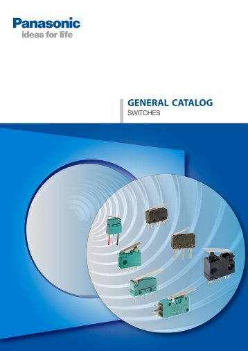 Catalog switches, 11/2012 - Panasonic Electric Works Europe AG