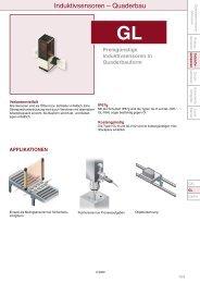 Datenblatt GL - Panasonic Electric Works Europe AG
