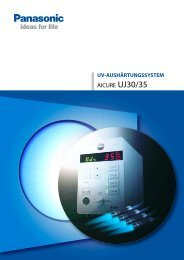 Datenblatt Aicure UJ30/35 - Panasonic Electric Works Austria GmbH