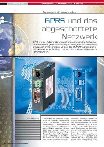 GPRS und das abgeschottete Netzwerk - Panasonic Electric Works ...