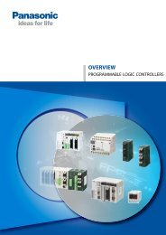 PLC Overview (6,38MB) - Panasonic Electric Works Europe AG