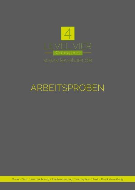 Level Vier ARBEITSPROBEN
