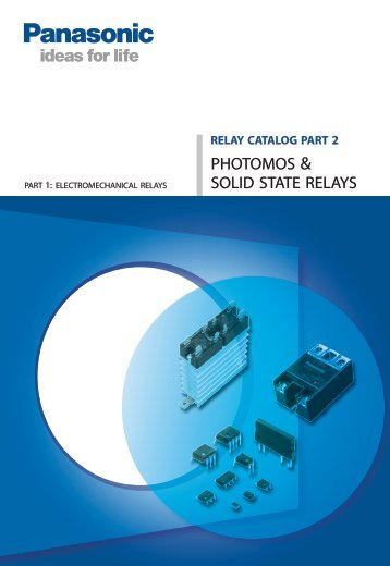 PhotoMOS & Solid State Relays - Panasonic Electric Works Europe ...