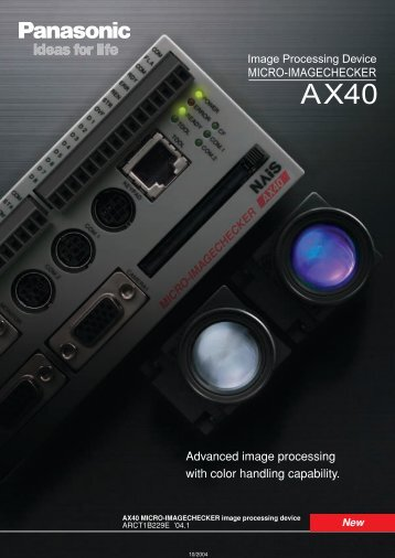 Dimensions AX40 - Panasonic Electric Works Europe AG