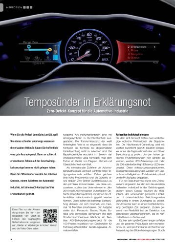 Temposünder in Erklärungsnot - Panasonic Electric Works Europe AG