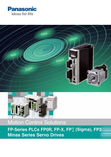 Motion Control Solutions - Panasonic Electric Works Europe AG