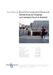 Realisierungswettbewerb Überdachung der ... - Dhp-sennestadt.de