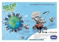 100 CHF - Chicco