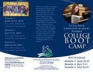 Brochure - Little Rock Christian Academy
